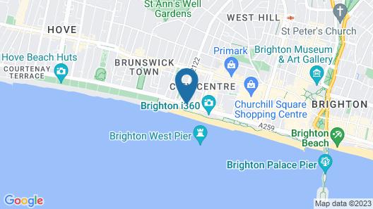 Kings Hotel Map