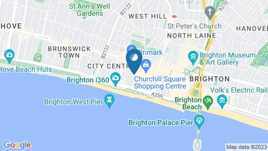 Cannon Spa Brighton Beach Apartments Map