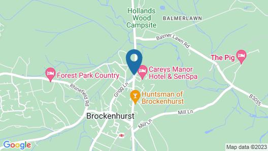Careys Manor & Senspa Map