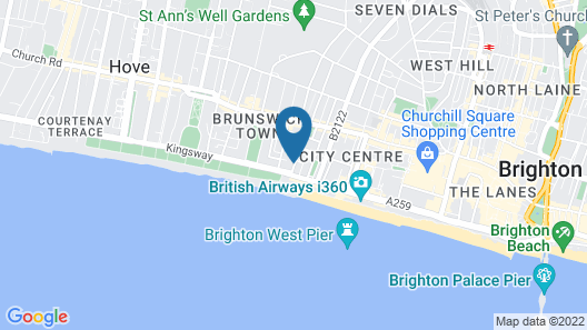 On the Water - Waterside studio  Map
