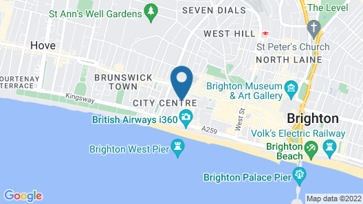 Brighton Getaways-Sunshine Central House Map