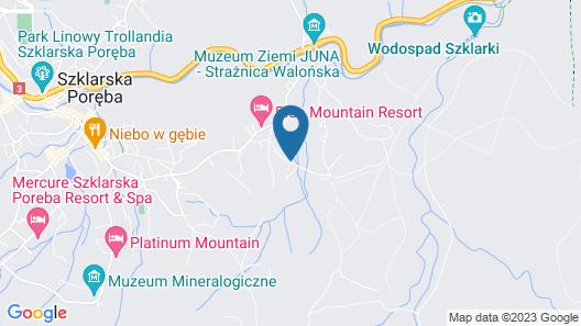 Cristal Resort Map