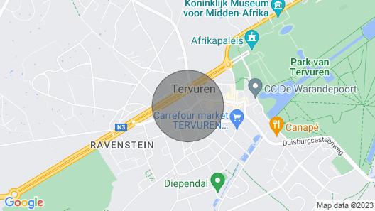 Comfortable Apartment in Tervuren Map