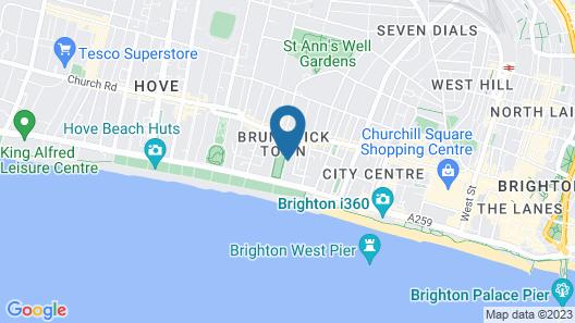 Brunswick Square Hotel Map