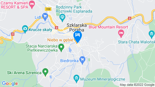 Hotel Krysztal Conference & Spa Map
