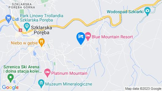Blue Mountain Resort Map