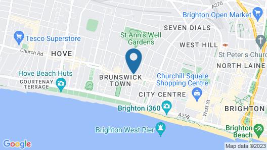 Brunswick Road Studios Map
