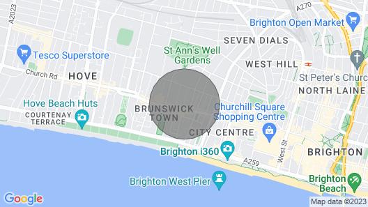 Brunswick Road Studio Map
