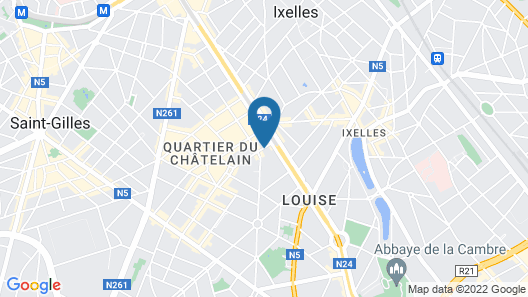 Le Châtelain Map