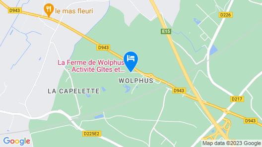 La Ferme de Wolphus - Gîtes Map
