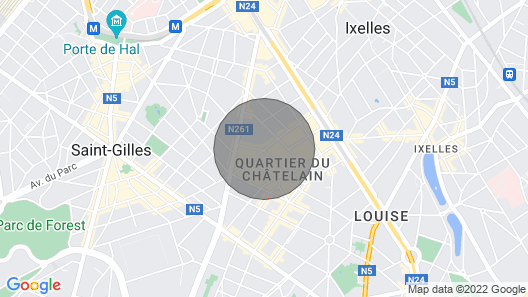 Funished Flat to Rent in the Exclusive Chatelain Neighbourhood Map