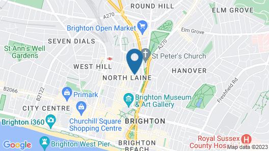 Brighton Getaways - Artist Studio Map