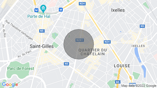 Brussels Stylish Getaway Map