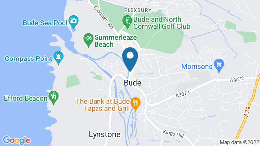 The Strand Hotel Map