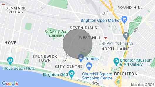 1 Bedroom Ground Floor Flat in City Centre Map