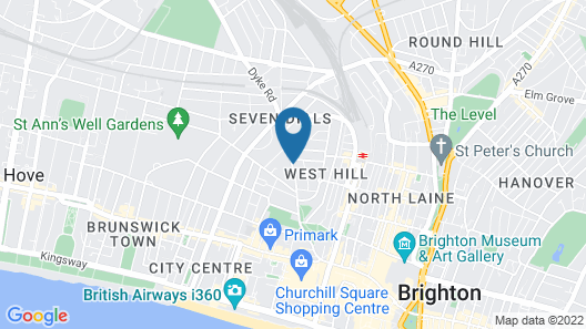 Charles Court Serviced Apartments Map