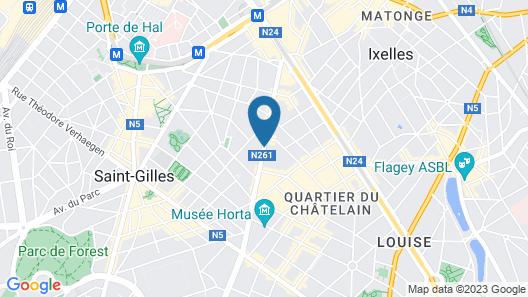 Hotel Manos Premier Map