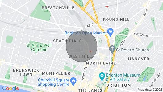 Buckingham Garden Flat Map