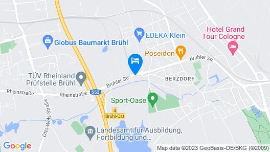 Godorfer Burg Monteuer Zimmer Map
