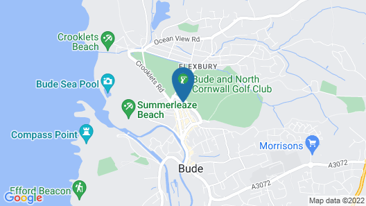 Links Side Guest House Map