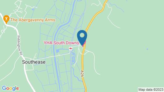 YHA South Downs - Hostel Map