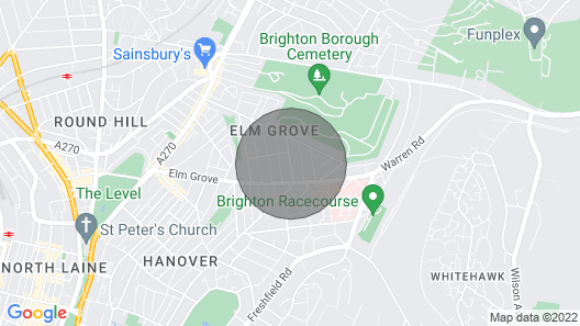3 Bedroom Brighton Townhouse With Garden Map