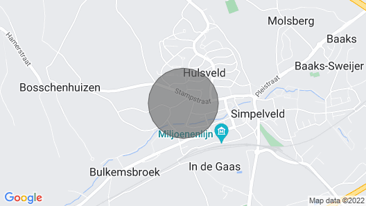1 Bedroom Accommodation in Simpelveld Map