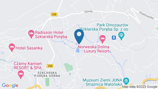 Apartamenty Sun & Snow Bawaria II Map