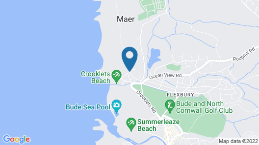The Cliff Hotel Map