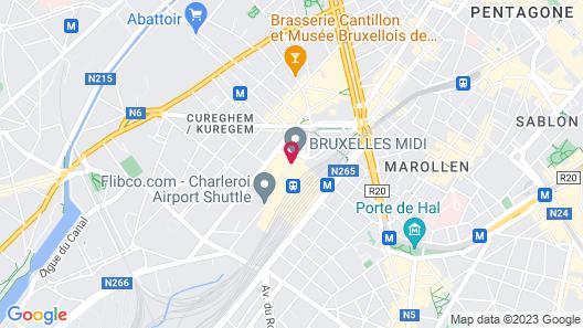 Pullman Brussels Centre Midi Map