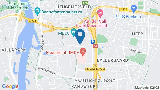 NH Maastricht Map