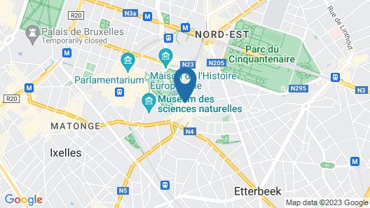 Sofitel Brussels Europe Map