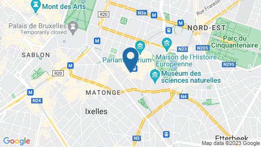 Renaissance Brussels Hotel Map