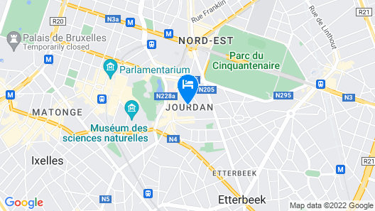 Smartflats Design - Place Jourdan Map