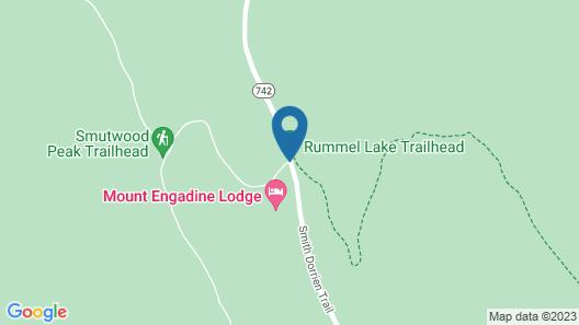 Mount Engadine Lodge Map