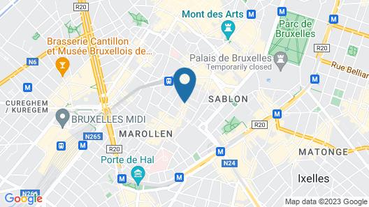 B&B La Maison Haute Map