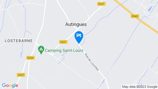 Au Petit Tambour d'Autingues Map