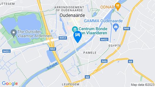 Leopold Hotel Oudenaarde Map