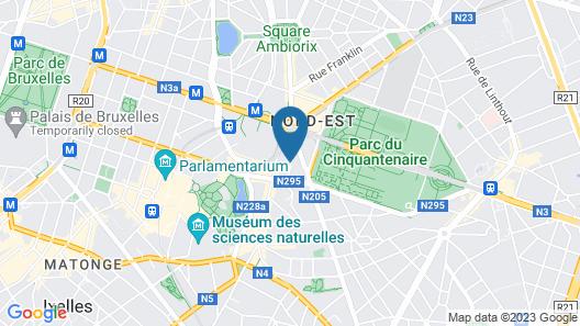 Holiday Inn Brussels Schuman, an IHG Hotel Map