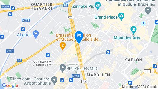 Flat Hotel Midi 33 Map