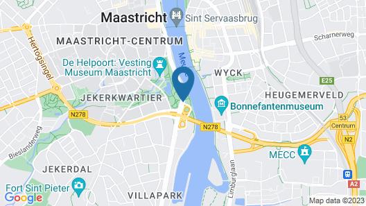 Stayokay Maastricht - Hostel Map