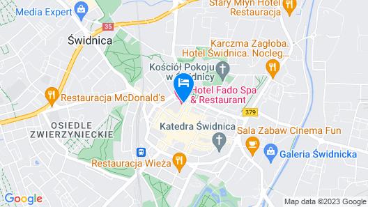 Hotel Fado Spa&Restaurant Map