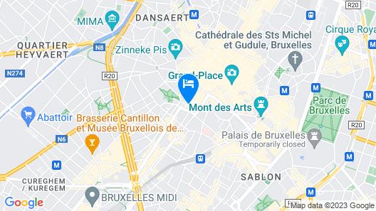 B&B La Casa-BXL Map