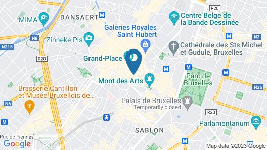 Hotel Mozart Map