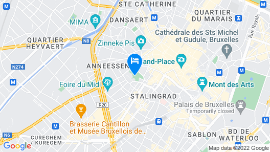 Catalonia Grand Place Map