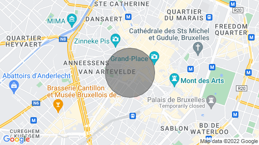 Cosy Apartment for 2 Guests With Wifi and TV Map
