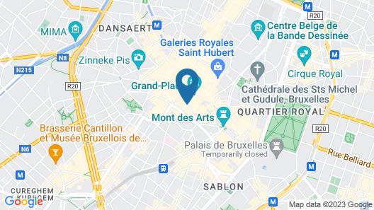 Rocco Forte Hotel Amigo Map