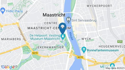 Zenden Design Hotel Maastricht Map