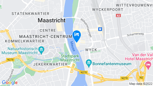 Crowne Plaza Maastricht Map