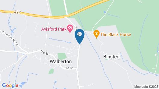 Hilton Avisford Park, Arundel Map